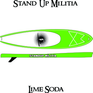Inflatable Lime Soda 1
