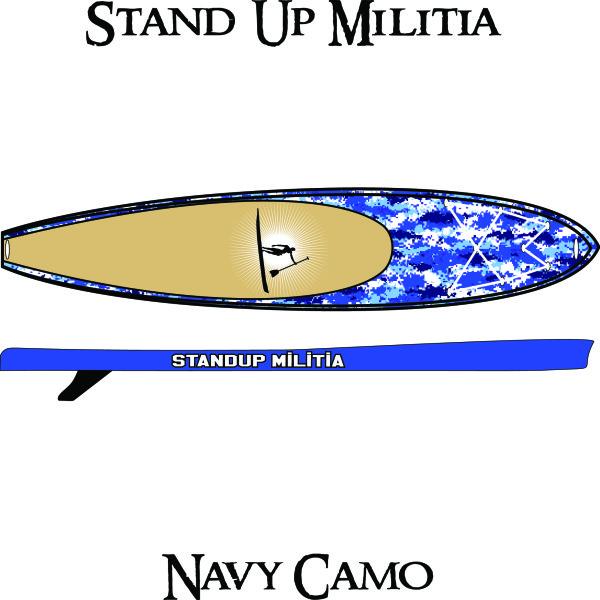 Inflatable Navy Camo 1