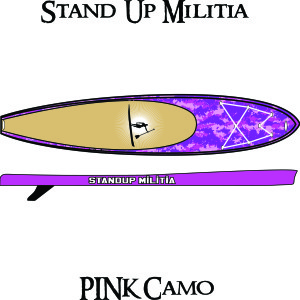 Inflatable Pink Camo 1