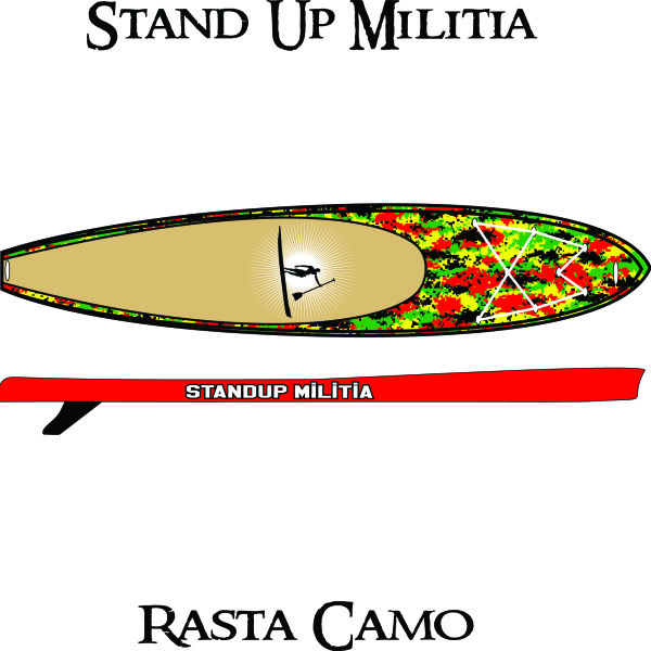 Inflatable Rasta Camo 1
